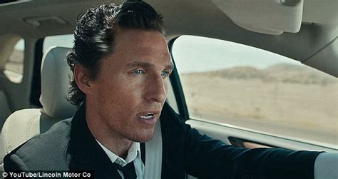 New Lincoln Car Commercial by Sassy In Witty Spoof Of Matthew Mcconaughey S