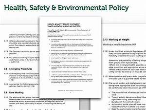 ramscapes health and safety policy commercial With environmental health and safety plan template