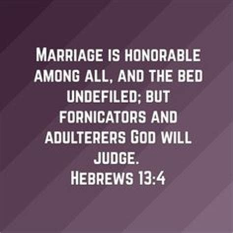 marriage bed is undefiled hebrews on faith god and hebrews 6 19