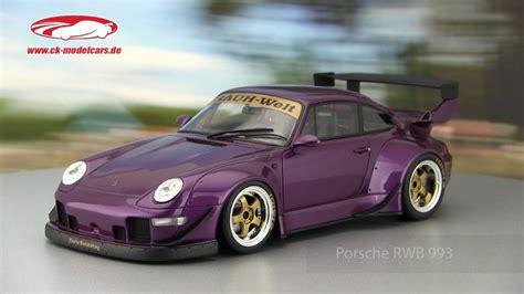 porsche rwb purple ck modelcars video porsche rwb 993 violet gt spirit youtube