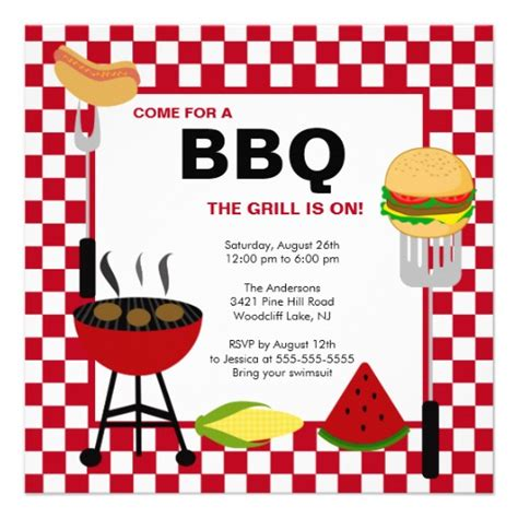 bbq invitation template 12 best photos of summer bbq invitation word template summer bbq invitations template