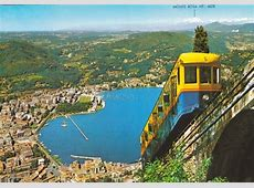transpress nz funicular from Como to Brunate, Italy