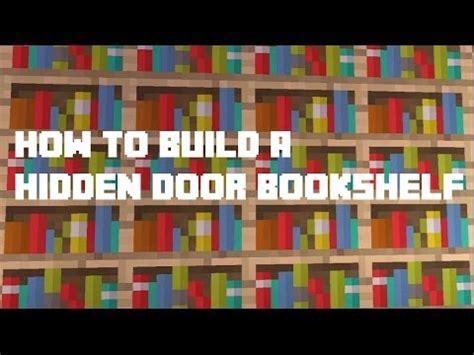 Minecraft Secret Bookcase Door by Minecraft Xbox360 How To Build A Door Bookshelf
