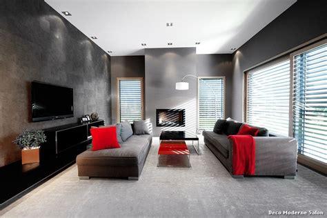 deco moderne salon with contemporain salle de séjour
