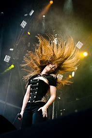 Simone Simons Hair Flip