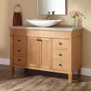 "48"" Marilla Vessel Sink Vanity - Bathroom"