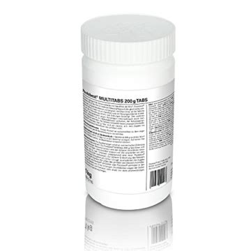 chlor multitabs test poolsbest chlor multitabs 1kg 5in1 200g tabs
