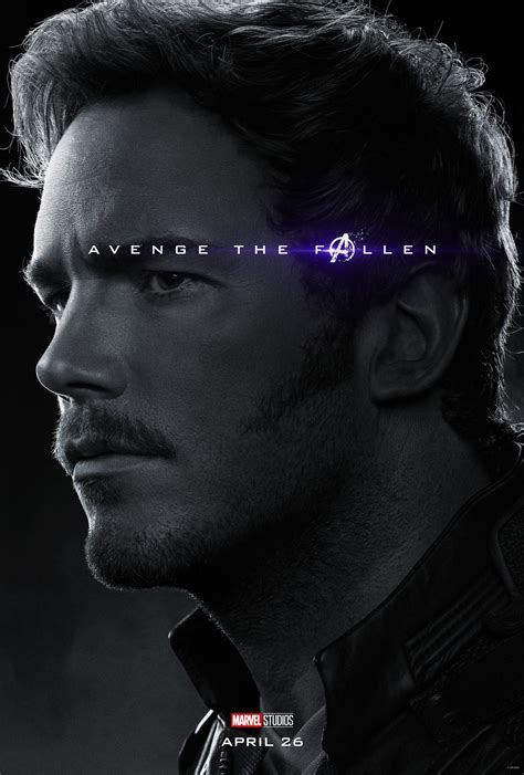 Avengers Endgame Character Posters Confirm The Living