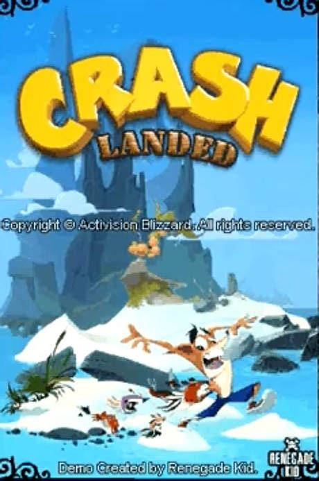 Crash Landed Cancelled Ds Unseen