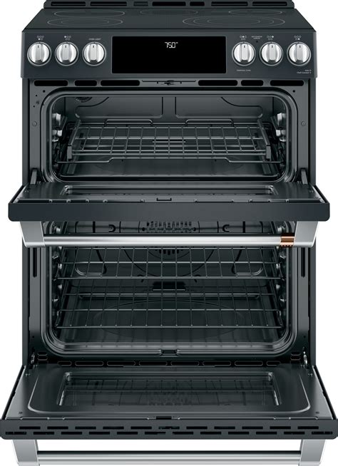 cespmd cafe    double oven electric range matte black