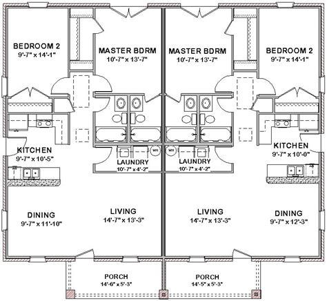 2 bedroom 1 bath house plans 2 bedroom 2 bath cottage plans duplex house plans