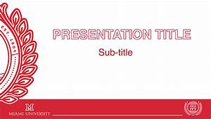 university of miami powerpoint template popular samples With university of miami powerpoint template