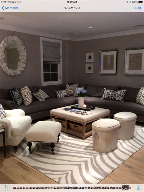 Decorating Living Room With A Sectional by Family Room Dtm Interiors Living Room Decor Cozy