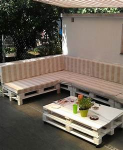 Fauteuil En Palette Facile : 52 id es pour fabriquer votre meuble de jardin en palette ~ Melissatoandfro.com Idées de Décoration