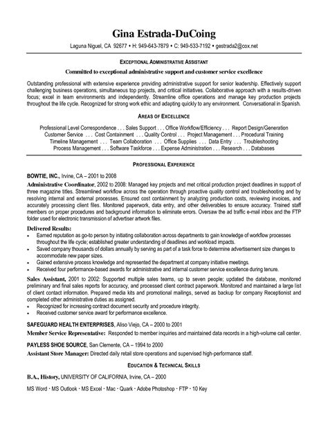 general office assistant resume sales assistant lewesmr