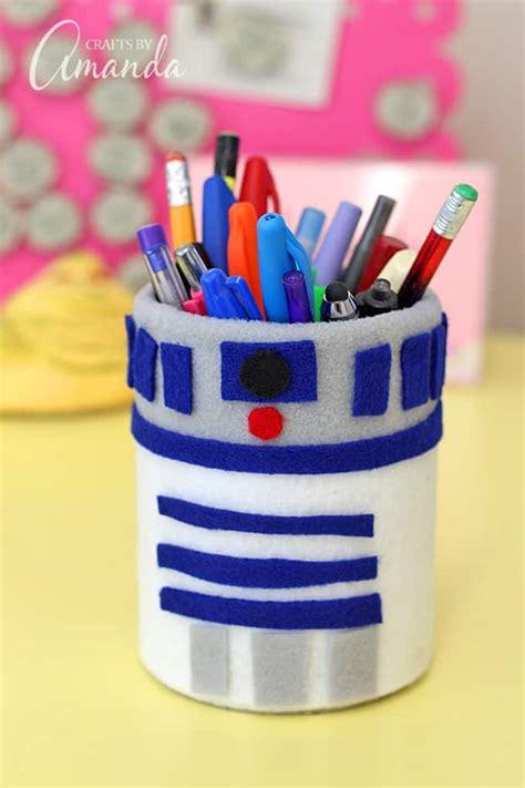 star wars craft   pencil holder