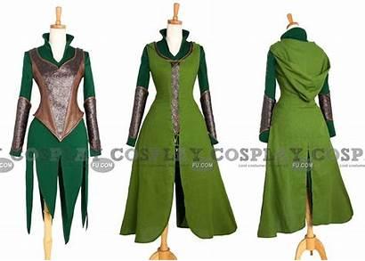 Cosplay Tauriel Hobbit Costume Costumes Clothes Radisson