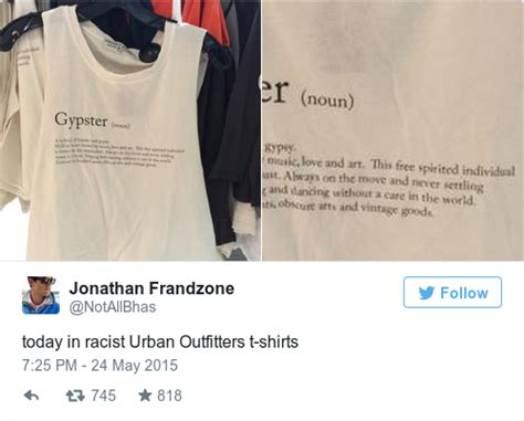 Urban Outfitters is under fire for this controversial u0026#39;Gypsteru0026#39; t-shirt