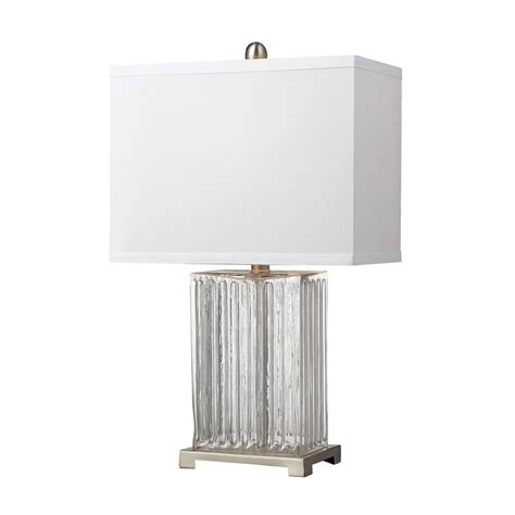white rectangle l shade table l with white rectangle shade d140 destination