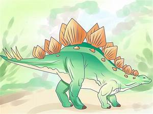 How to Draw a Stegosaurus (with Pictures) - wikiHow