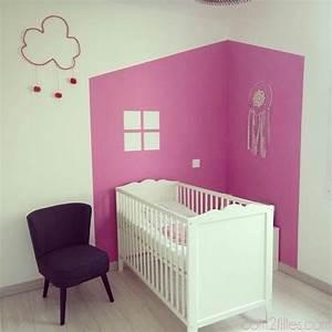 peinture idee deco pour chambre d39enfant With peinture chambre petite fille