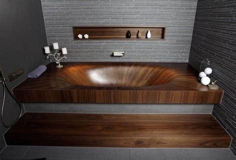 Basic Bathtub by Fluid Wooden Tubs Laguna Basic Bathtub