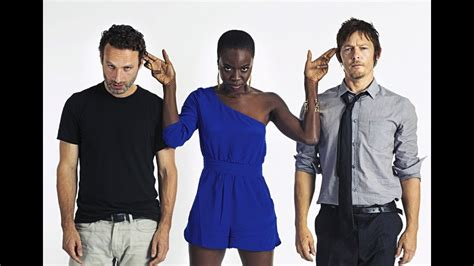 Nacon's first big break was actually starring as enid on the walking dead. The Walking Dead Cast Funny Photos - Season 3 - YouTube