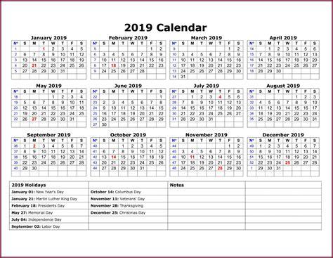 calendar template excel word