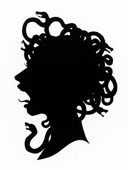 Medusa Mythology Silhouette Greek Stencil Stencils Google
