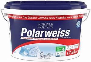 Schöner Wohnen Polarweiss : sch ner wohnen farbe polarweiss online kaufen otto ~ Watch28wear.com Haus und Dekorationen