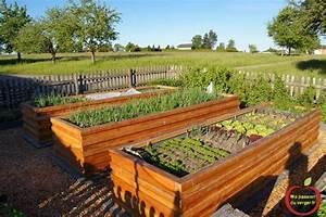 Bac En Bois Pour Potager : bac jardin bois inspirant potager palette bois good ~ Dailycaller-alerts.com Idées de Décoration