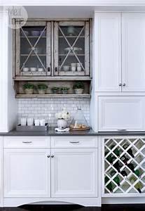 les 20 meilleures images du tableau cuisines avec papier With kitchen colors with white cabinets with papiers peints elitis