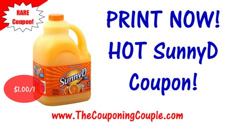 sunny delight coupons