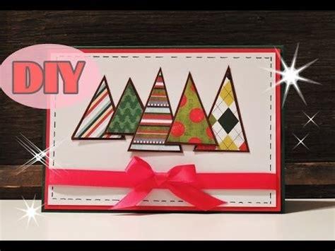 weihnachtskarten zum selber machen weihnachtskarten selber basteln 2 weihnachtsbaum card diy