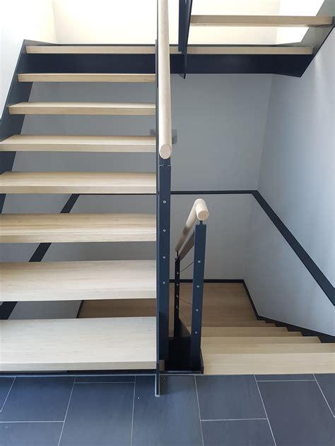Treppen Aus Stahl by Treppen Kombiniert Holz Stahl L Schildger Gmbh Co Kg