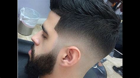 mens  haircut skin fade  youtube