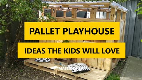 awesome pallet playhouse diy ideas  kids  love