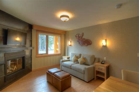 superior  bedroom suite   moose hotel  suites