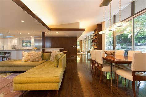 Home Interior : Mid-century Modern Style