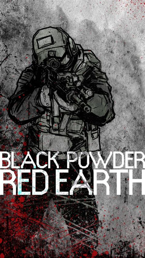 iphone wallpaper image black powder red earth indie db