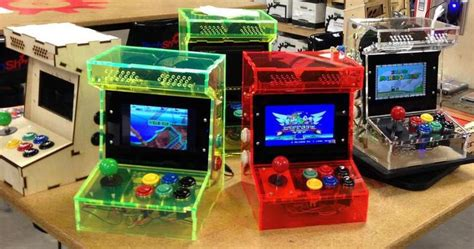 mini arcade cabinet kit custom built arcade and mame cabinets mini arcade roms