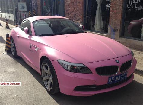 pink   china    cool car wed