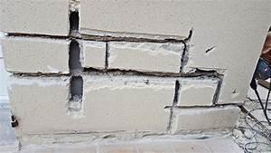 Reparer Grosse Fissure Mur Exterieur : r paration de fissures importantes groslay ravalement ~ Melissatoandfro.com Idées de Décoration