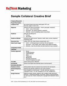 sample collateral creative brief With ogilvy creative brief template