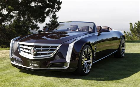 Cadillac Car : Cadillac Debuts Ciel (sky) Concept At Pebble Beach