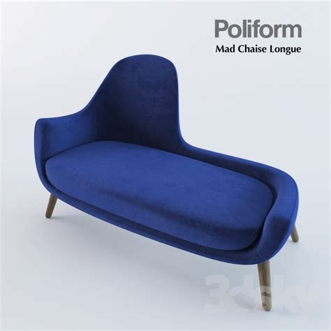 about chaise 3d models other seating poliform mad chaise longue