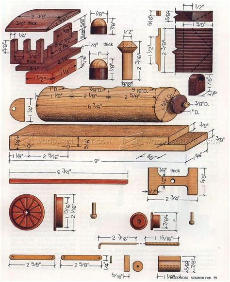 wooden locomotive plans woodarchivist