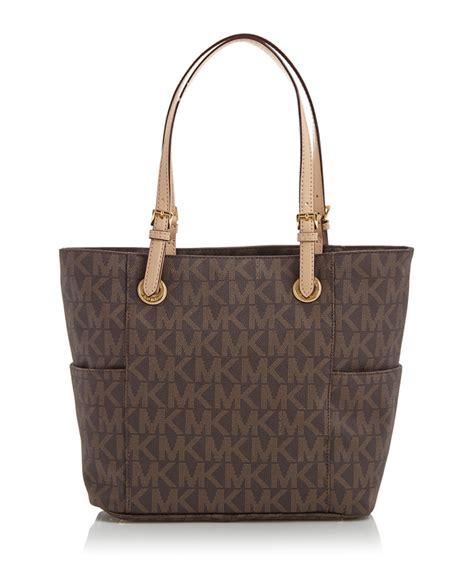 promo sale inbagsbrown discount brown mk logo tote bag secretsales