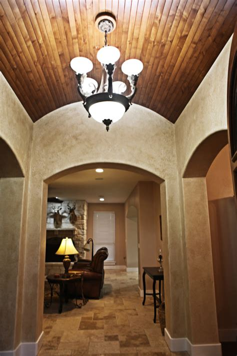 what type of wood did you use on the barrel ceiling