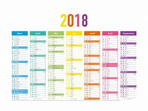 Calendrier Par Mois : calendrier arc en ciel 7 mois par face 33 5x43 cm oberthur ~ Dallasstarsshop.com Idées de Décoration